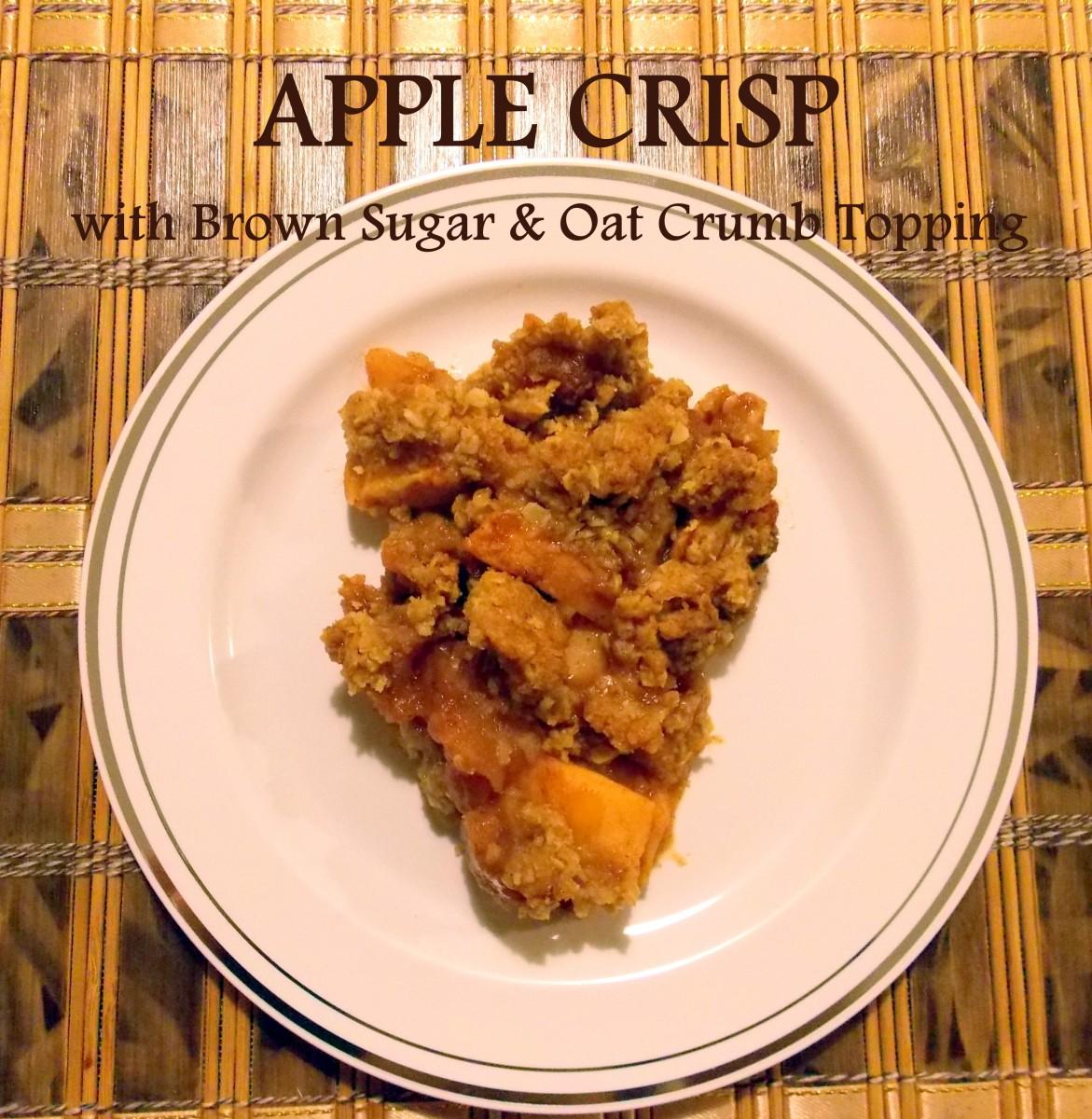 Food Network Apple Crisp Recipe Oatmeal